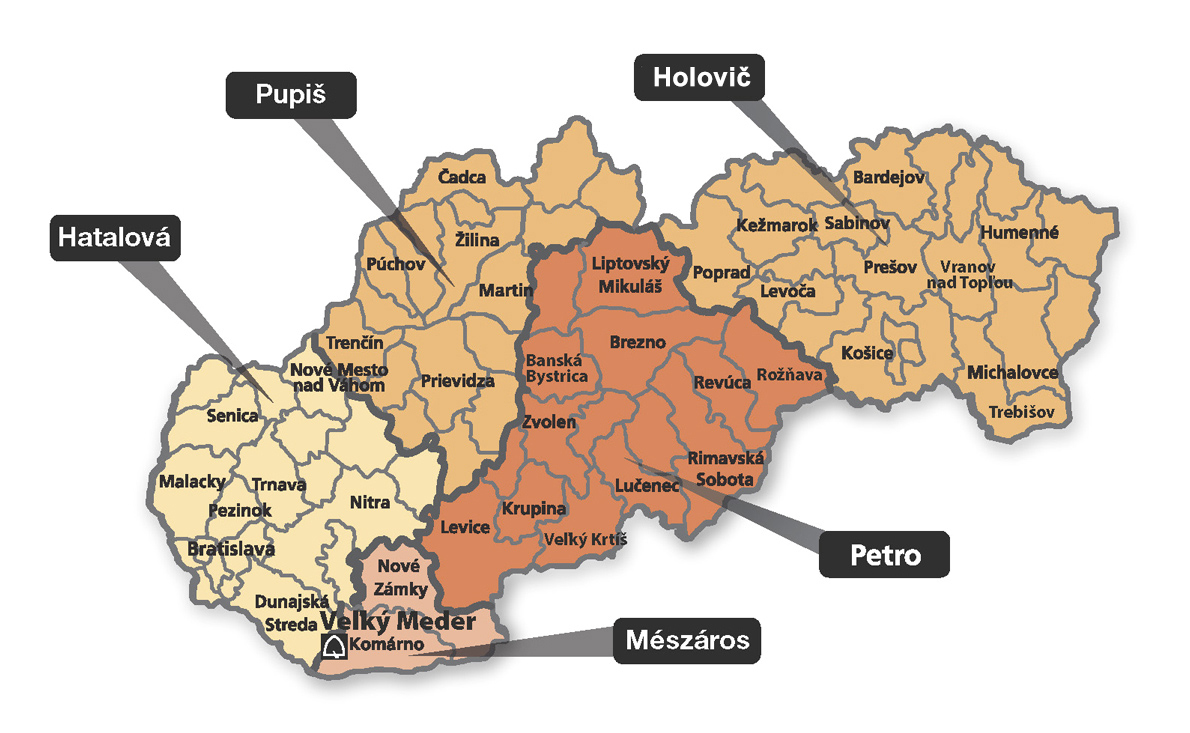 Mapa SK